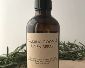 Calming Room and Linen Spray