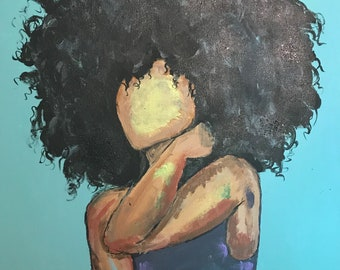 Girl With The Fro