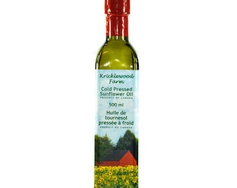 Sunflower Oil Cold Pressed 500 ml