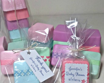 Baby shower Favors Cheap, Baby Shower Favor soaps, Baby Shower favor Mini Soaps, homemade soap favors, baby shower favors for guests