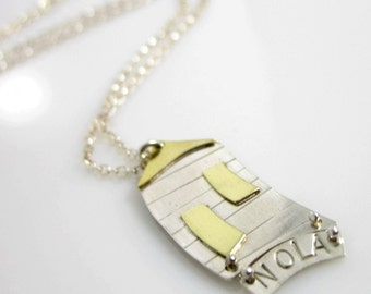 Nola Shotgun Necklace