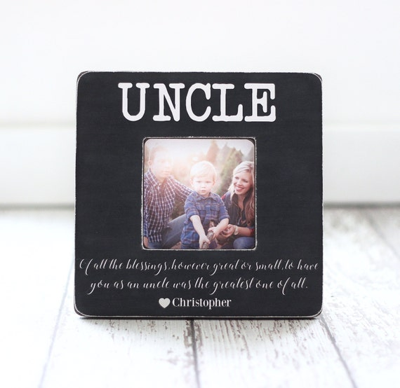 Christmas Gifts For Nephew And Niece: Christmas Gift For Uncle From Nephew Niece Quote Personalized