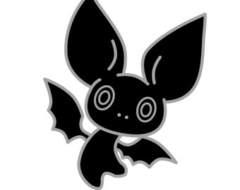 Occult Trash Bat Enamel Pin