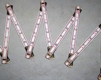 Vintage Lufkin No. 066D Folding Ruler