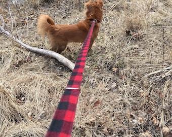 Red Buffalo Leash