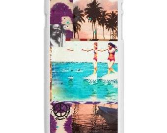 iPhone 6s/6, iPhone 6s/6 Plus Case, HAWAIIAN TROPIC, iPhone 6s, iPhone 6s Plus, Hawaii, Palm Trees, Avail. with Black or White case color