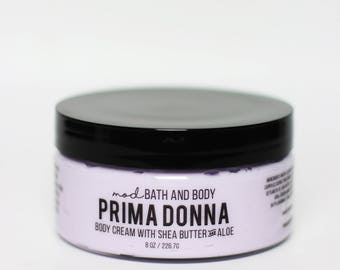 Body Lotion Prima Donna | Vegan Body Lotion | Body Cream | Hand Lotion | Spa Gift | Bath and Beauty