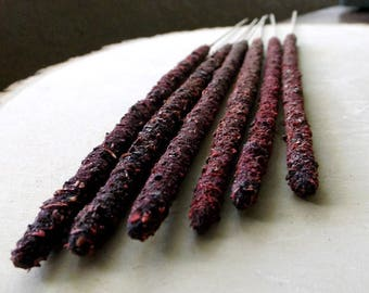 DRAGONS BLOOD & PALO Santo Artisan Incense - hand rolled, hand packaged, witchcraft supply, incense sticks, wiccan, pagan, witchcraft