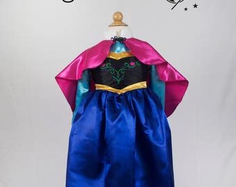 Anna from Frozen Costume For Kids