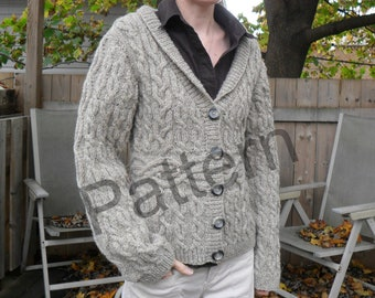 Beorn - Cabled Sweater Pattern PDF