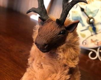 Doll Deer Handmade - OOAK doll