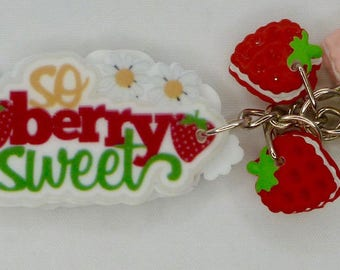 So Berry Sweet Keyring/Keychain