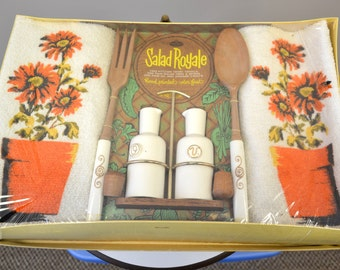 1960s Royal Terry Salad Royale Hostess Set