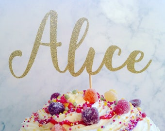 Personalised cake topper, name cake topper, custom cake topper, cake topper, cake decoration, party decor, personalised cake decoration