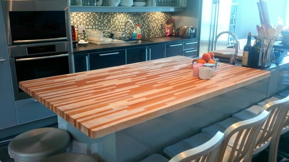 diy countertops wide block board close counter butcher simplymaggie plank tops com up cutting
