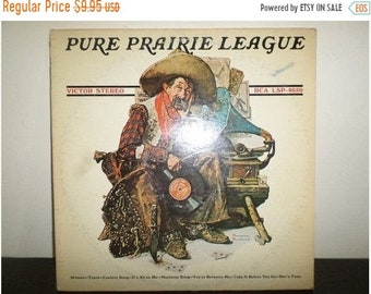 Save 30% Today Vintage 1975 Vinyl LP Record Pure Prairie League Self Titled Orange Label Very Good Condition 7693