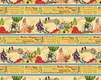 Magic of Oz from Wilmington Prints - 85574 154 Stripe Free shipping U.S.