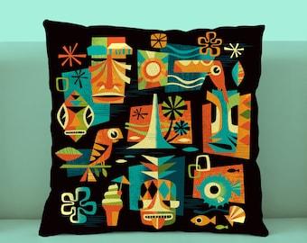 Tiki Summer Pillowcase