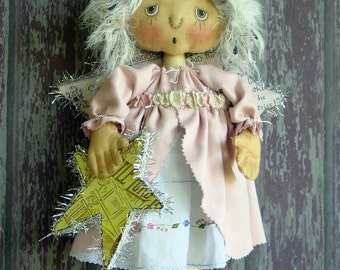 CF264 Wynter Angel Sewing Cloth Angel Doll PDF E-Pattern