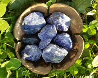Sodalite - Rough, Raw, Natural Sodalite