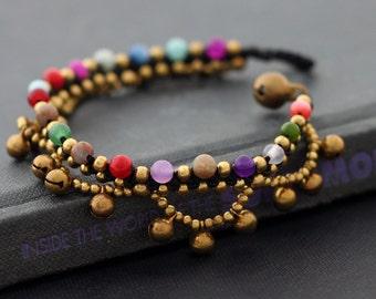 Woven Beaded Bracelets Candy Chandelier