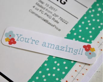 You're Amazing Stickers