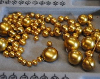 Vintage Beads Gold/Repurpose