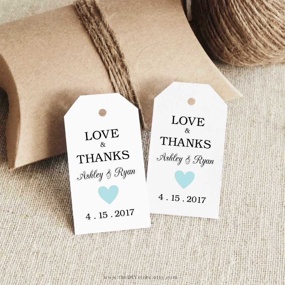 free printable wedding gift tags templates - Dorit.mercatodos.co
