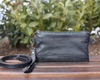 Waist Bag , Fanny packs  leather , wristlet ,fanny packs for women Shoulder Bag ,Crossbody bag, Travel Bag,  Gift for women