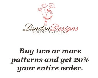 Special Listing - Buy Two Patterns and get 20% off