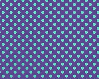 Tula Pink- All Stars -Pom Pom in Iris