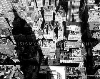 Empire State Building, New York, Original Photograph 8x10
