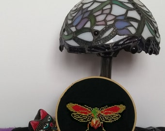 Gorgeous Garden Dragonfly (excerpt from larger pattern)