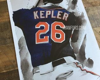 Max Kepler Minnesota Twins - Print