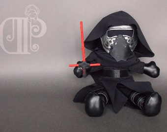 Kylo Ren Star Wars The Force Awakens Plush Doll Plushie Toy