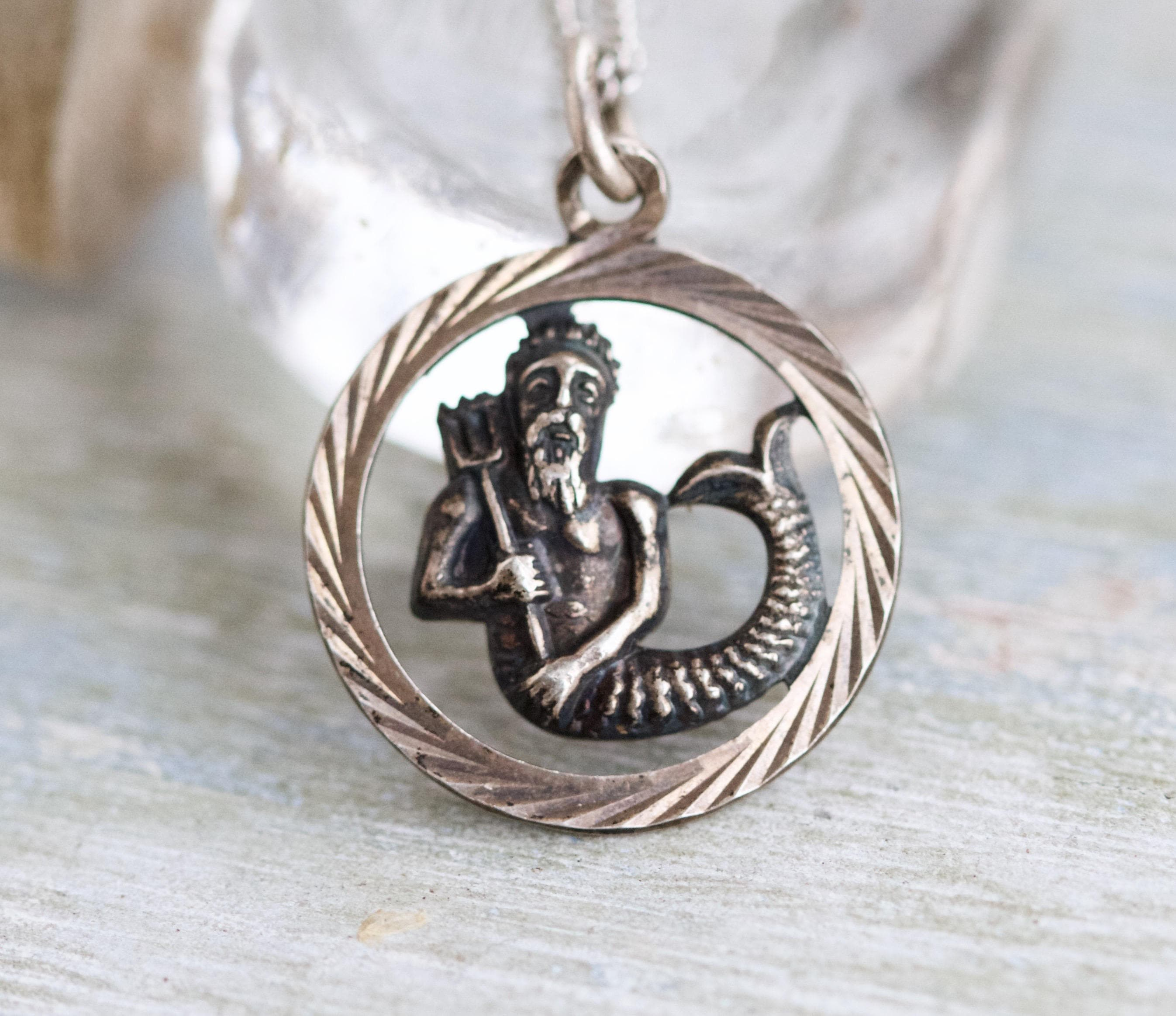 healing necklace medicine amulet pendant god roman il of and asclepius ibke greek listing fullxfull