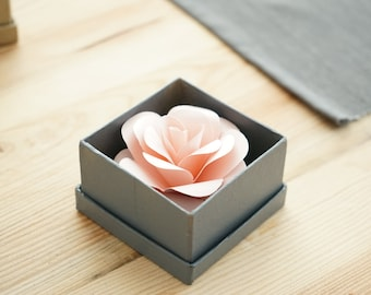 Origami Rose in a beautiful display box