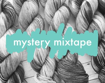 mystery mixtape | choose your base | hand dyed yarn