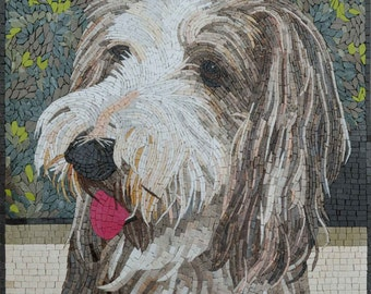 Custom Mosaic Pet - Tibetan Terrier