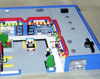 Shopping Mall building instructions - use your own LEGOs to build this custom model
