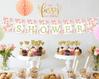 Bridal Shower Banner, Printable Bridal Shower Banner, Instant Download, Bridal Shower, Instant Download Shower Printables