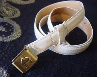 Etienne Aigner Soft Cream Belt