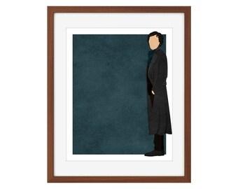 BBC Sherlock print - Sherlock Holmes/Benedict Cumberbatch