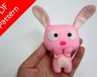 Rabbit Plush PDF Pattern -Instant Digital Download