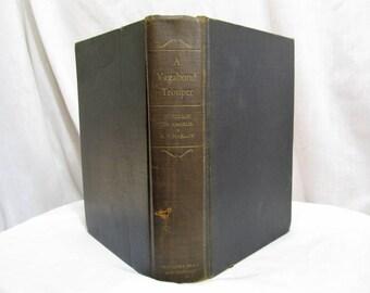 A Vagabond Trouper, Jefferson De Angelis & Alvin F. Harlow, Book 1931 First Edition, Biography Stage Actor Vaudeville Comedy Director