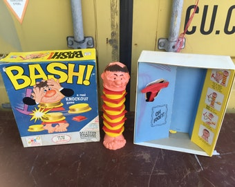 Vintage BASH Game by Milton Bradley  A Real Knockout Game