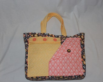 Tote Bag With Pockets, Handbag,