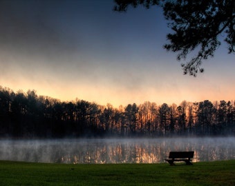 Shocco Springs, Early Morning Lake 5
