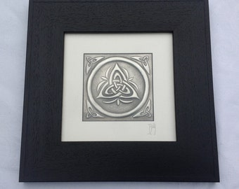 Trinity Pewter Repousse Picture