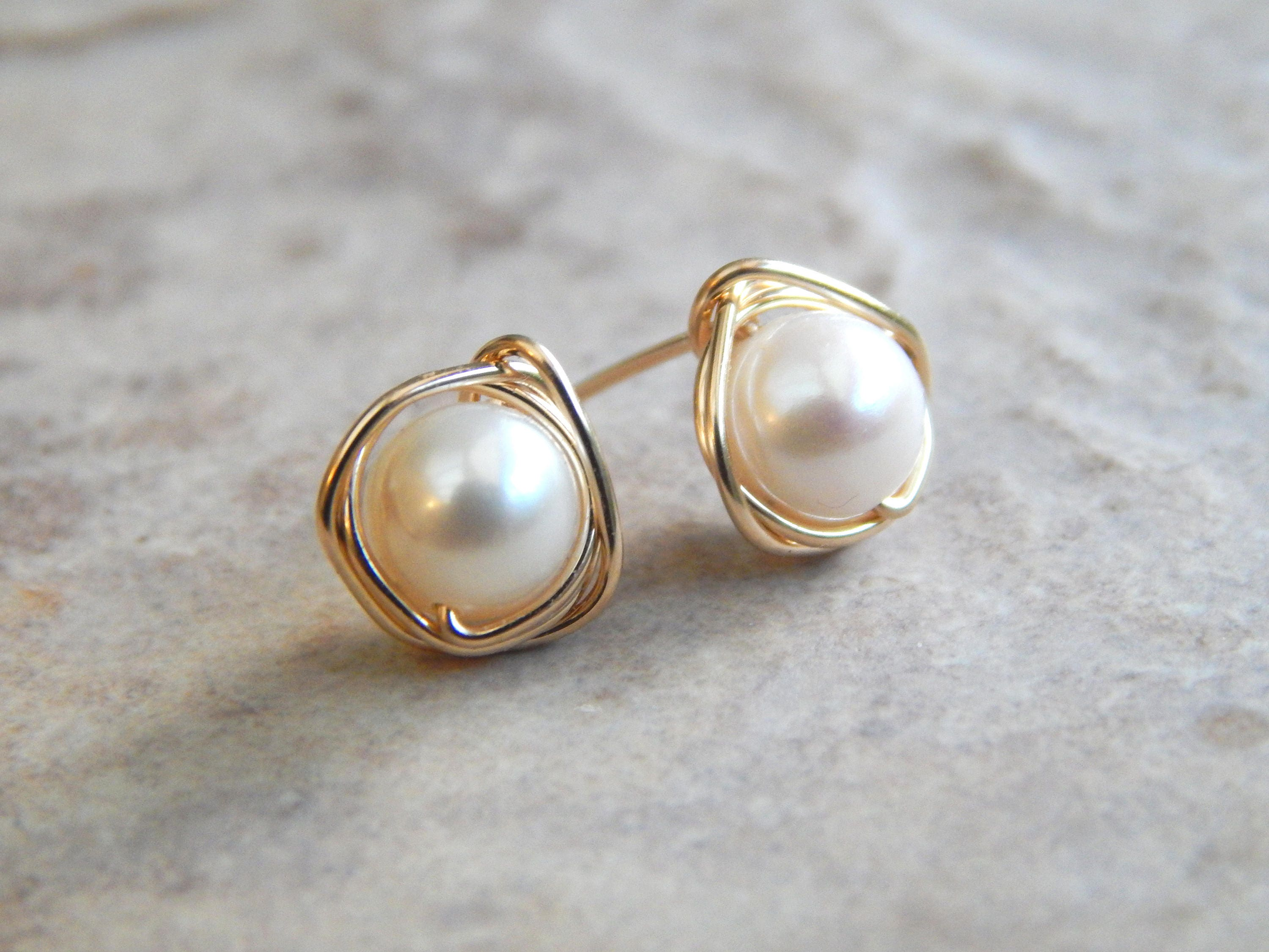 loading by moda earrings real brigid yellow operandi gold blanco triple pearl white large